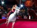 Цирк. Жанна-наездница.