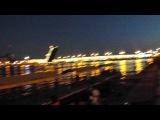 Русские Самураи(Владивосток)на мостах в Петербурге